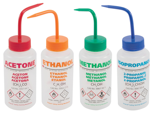 GHS Compliant Wash Bottles