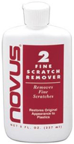 NOVUS 2 Plastic Fine Scratch Remover