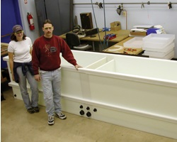 800 Gallon HDPE Plating Tank