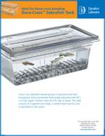 143354 ZebraFish Tanks Sales Sheet Literature