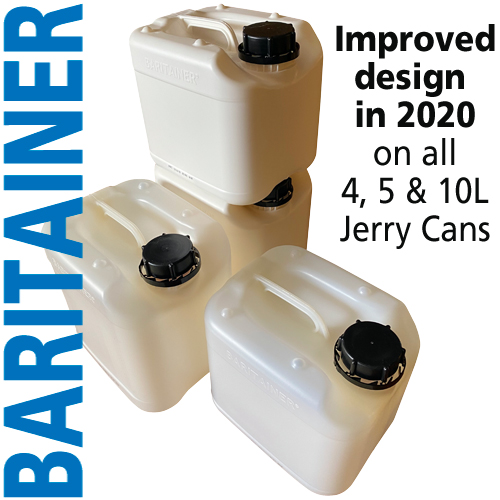 Baritainer Jerry Can Improved Design