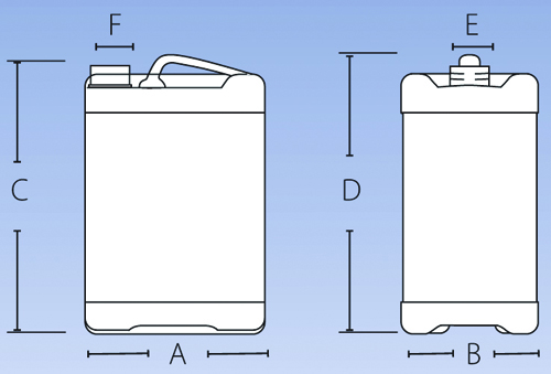 Baritainer Jerry Can Dimensions