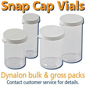 Plastic Snap Cap Vials