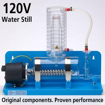 New QWS4 120V Water Still