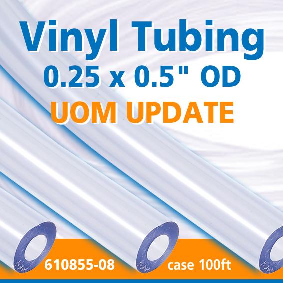 Vinyl Lab Tubing 610855-08