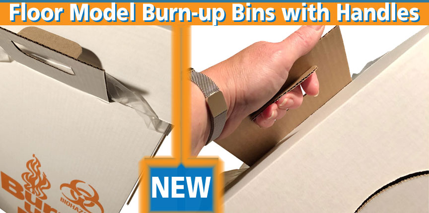 Get A Grip - Burn-up Boxes with integral handles