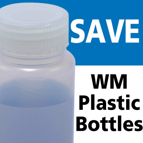 Azlon Overstock Wide Mouth Plastic Bottles
