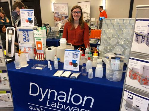 Morgan McDonald at the Dynalon Booth