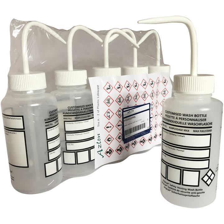 Free GHS Wash Bottles