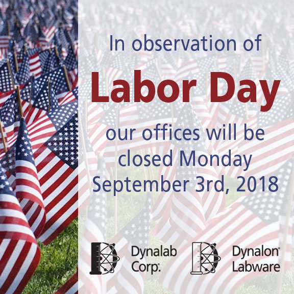 Closed for Labor Day 9/3/18