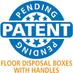 Patent Pending Floor Model Disposal Boxes