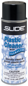Slide Plastic Cleaner with Foamaction No. 41515