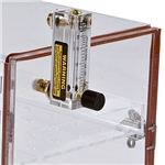 Acrylic Nitrogen Purge Cabinet