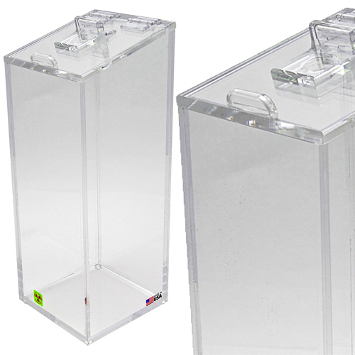 Clear Acrylic Beta Pipette Disposal Bins