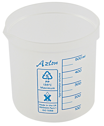 Azlon Square Ratio Beaker