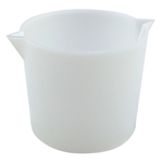 312004 Series Heavy Wall HDPE Beaker