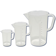 326485 Series Dynalon Tall Form Graduated Beaker with Handle