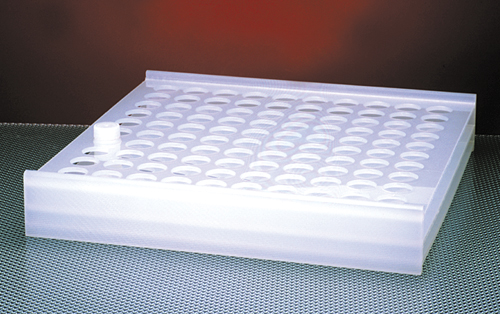 100 Place Plastic Scintillation Vial Rack