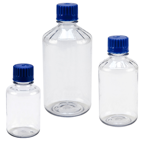 Polycarbonate Clear Graduated Bottles
