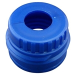 Blue Plastic Flask Filter Adapter