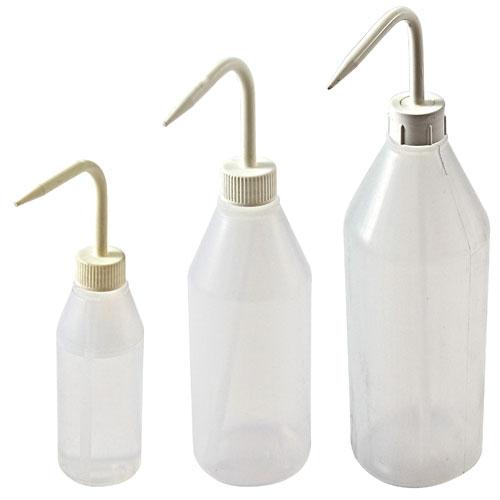 Azlon Sloping Shoulder Plastic Wash Bottle
