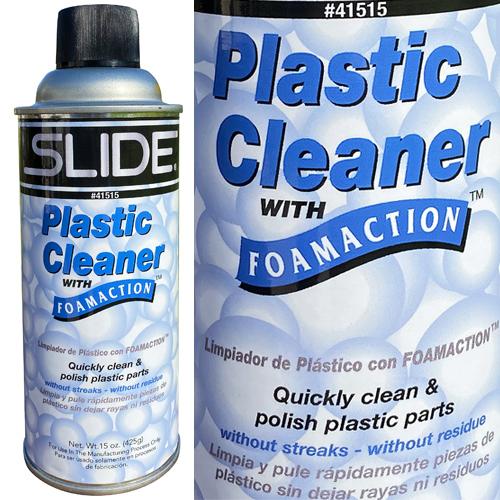 SLIDE Foamaction Plastic Cleaner