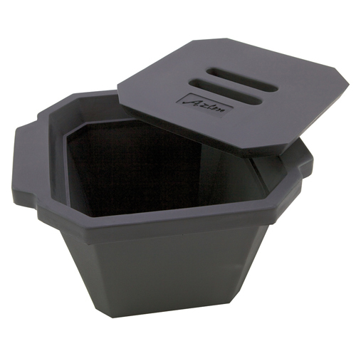 Azlon Octagonal Black Ice Bucket