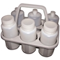 Plastic Bottles in 408175 Bottle Carrier
