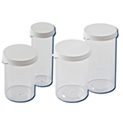 Plastic Snap Cap Vial Containers