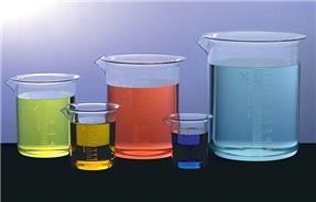Kartell Griffin Style Plastic Beakers